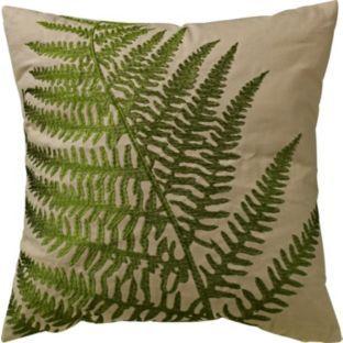Argos £12.00 fern cushion