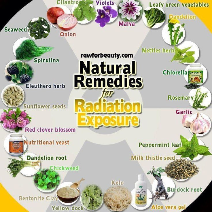 Natural Remedies for #Radiation Exposure