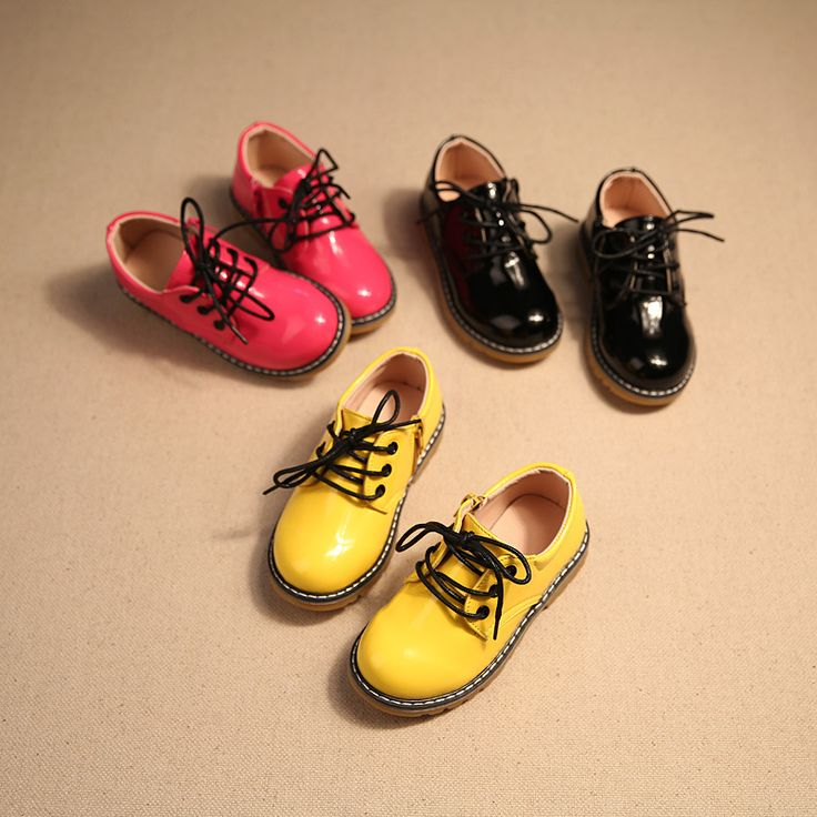 2017 spring and autumn new leather boys and girls waterproof shoes kids children formal shoes boys black school shoes formal sho