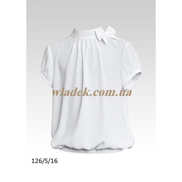 Школьная форма Sly (Польша) - Школьная блузка Sly 126 в интернет-магазине wladek.com.ua