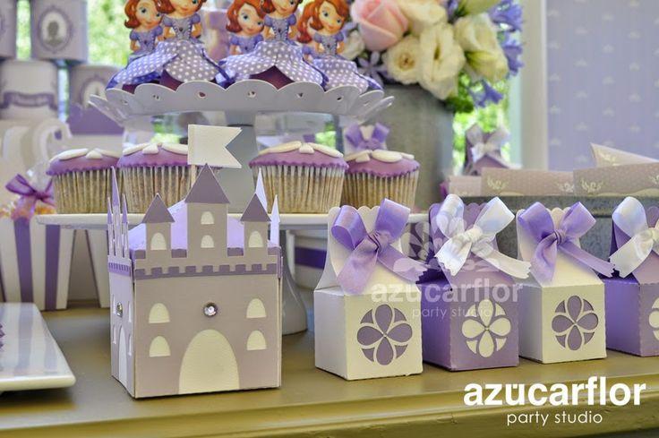 AZUCAR FLOR party studio: La Princesita Sofía