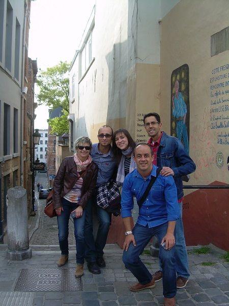 José Manuel Alguacil del I.E.S. Luis de Camoens ha asistido al curso Future Clasroom Scenarios en el Future Classroom Lab de European Schoolnet (Bruselas) durante los días 2 y 3 de junio de 2014