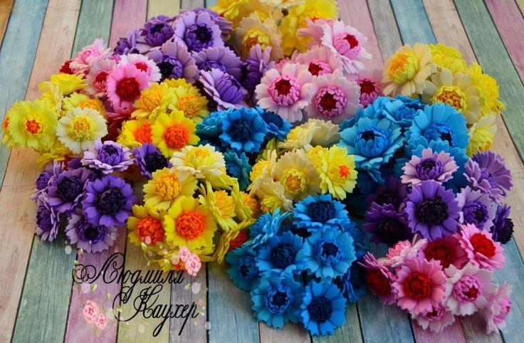 (6) Одноклассники   Цветок из лент, Заколки с цветами ...