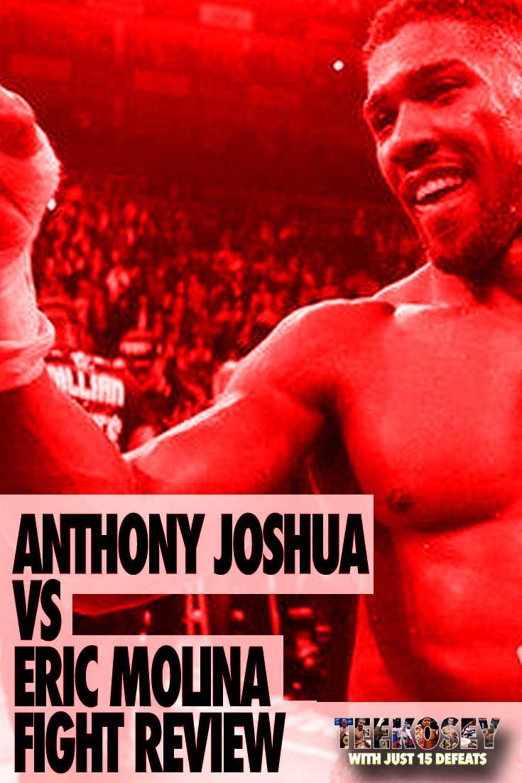 Anthony Joshua v Eric Molina. IBF World Heavyweight Boxing Championship.