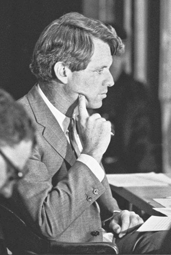 """United States Attorney General Mr~~Robert Francis Kennedy (November 20, 1925 – June 6, 1968), commonly known as """"Bobby"""" or by his initials RFK, was an American politician from Massachusetts. He served as a Senator for New York from 1965 until his assassination in 1968. He was previously the 64th U.S. Attorney General from 1961 to 1964, serving under his older brother, President John F. Kennedy  ♡❤❤❤♡❤♡❤❤❤♡ http://en.wikipedia.org/wiki/Robert_F._Kennedy"""