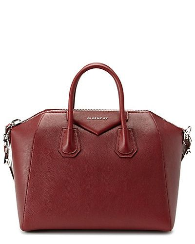 "Givenchy ""Antigona"" Medium Leather Satchel: Givenchy Antigona, Leather Satchel, Fashion, Bag Lust, Lux Bags, Events, Accessories, Medium Leather"