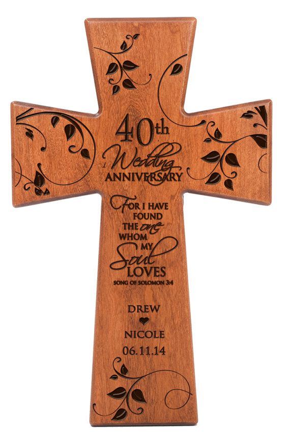 Traditional Wedding Gifts From Parents: Best 25+ 40th Anniversary Gifts Ideas On Pinterest