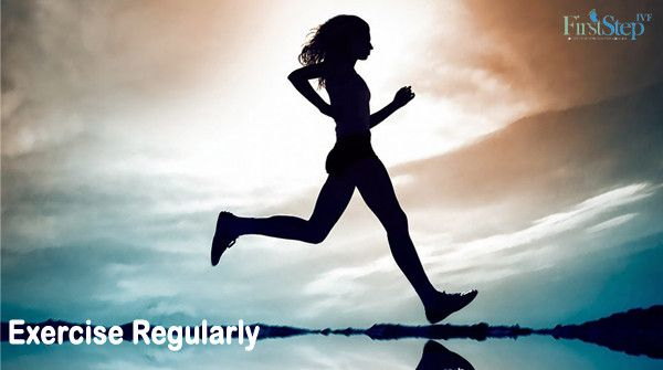 #TipOfTheDay Exercise Regularly will make you feel better & Give you more energy. Visit:www.firststepivf.com #FirstStepIVF