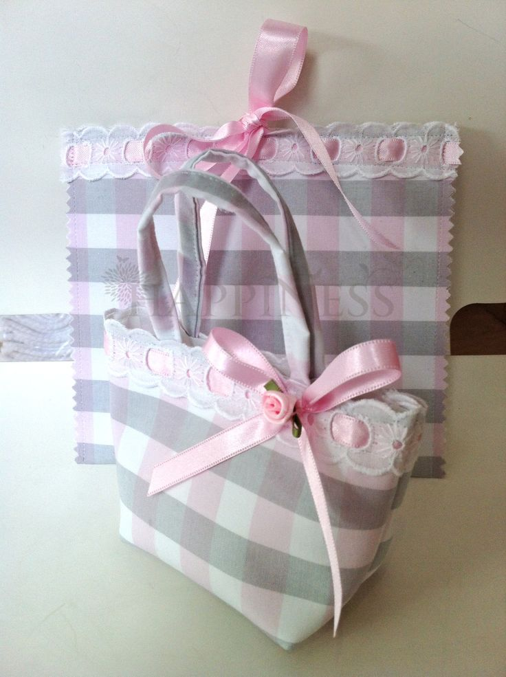 A matching set of favor and invitation for a beautiful little girls baptism. These can be tailored to your desires from a large collection of fabrics.   #bomboniera #weddingfavor #christening #baptism #invitation #prosklitirio  For more information: www.myhappiness.gr