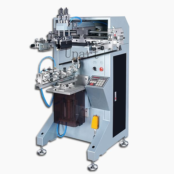single color label bottles/cups/tubes/volumetric flasks automatic cylinderical screen printer //Price: $US $1937.00 & FREE Shipping //     #clknetwork