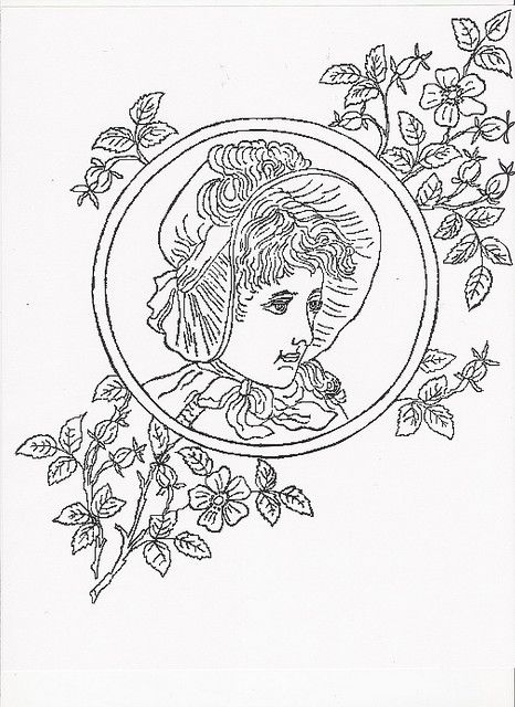 vintage embroidery pattern by annd926, via Flickr