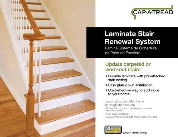 Wood floor renewal system gurus floor for Installing laminate flooring on stairs