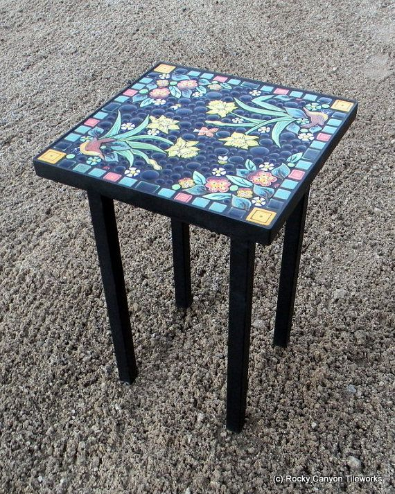 Incroyable 16 Square Steel Powder Coated Frame Garden By Rockycanyontileworks. Find  This Pin And More On Rectangular Mosaic Table ...