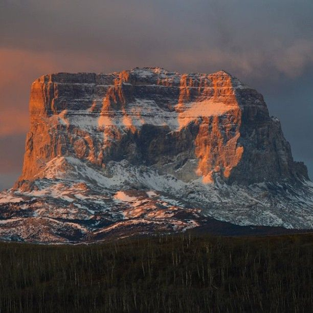 Chief Mountain, Glacier National Park, Montana | United States | Glacier national park montana, Glacier park, Visit montana