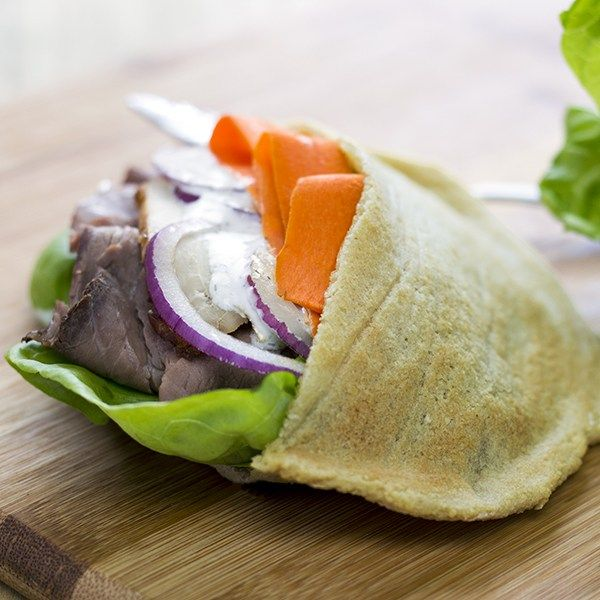 how to make pocket in pita