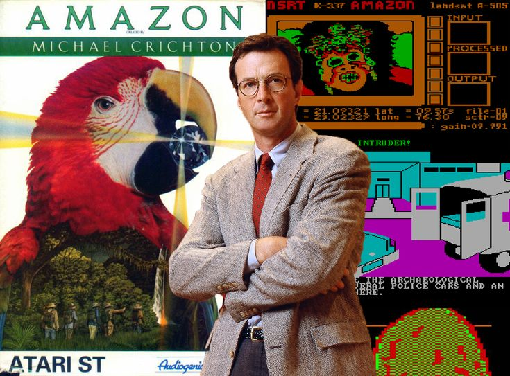 Jurassic Park writer Michael Crichton wrote a game? Based on his own novel Congo? Yep, it's true...