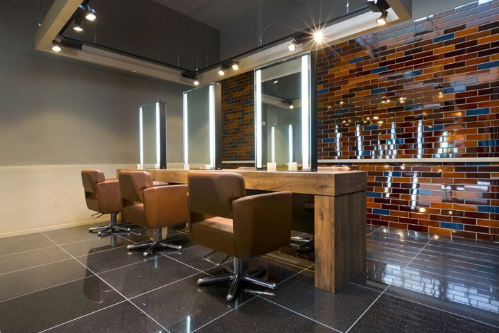 Here's an Aveda Salon design that incorporates some great natural elements! Aveda Lifestyle Salon Spa by Reis Design, London #Aveda