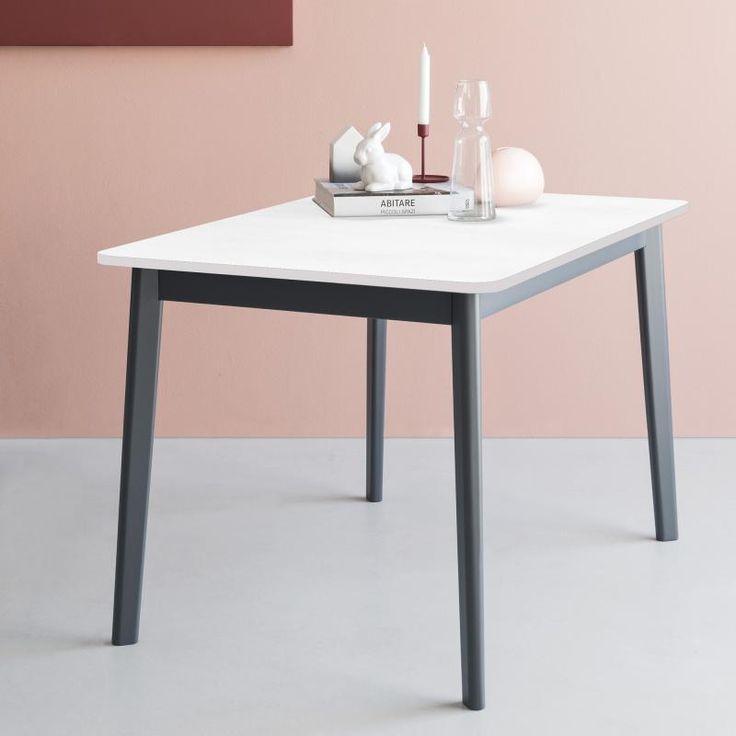 Tavolo con allunga a libro rettangolare Connubia Calligaris Dine, disponibile in due diverse misure, 110x70 o 120x80, e in ben 16 varianti per misura.