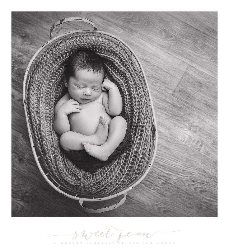Newborn boy natural potraits roseville ca www sweetjeanphotography com