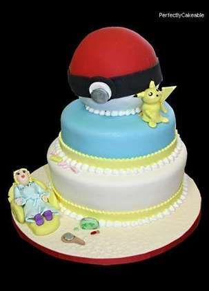 pokemon baby shower cake on cakes including wedding cakes