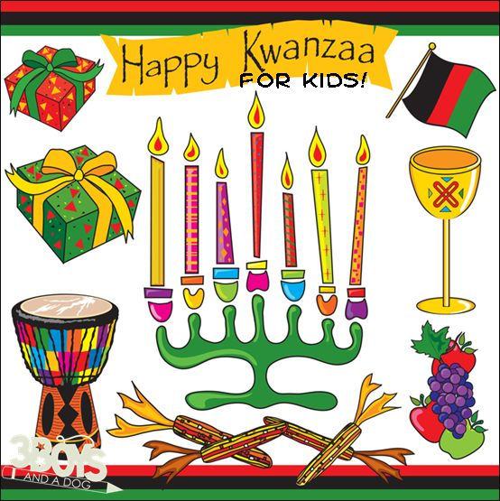 Kwanzaa for Kids: Learn A New Holiday Tradition from 3 Boys and a Dog