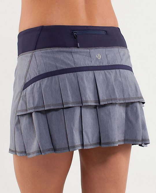 lululemon's Run: Pace Setter Skirt is cute, girly, and totally functional  http://shop.lululemon.com/products/clothes-accessories/women-skirts-and-dresses/Run-Pace-Setter-Skirt-54545?cc=4495=3439448=women-skirts-and-dresses