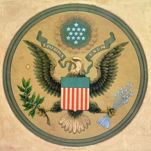 June 20,   1782: CONGRESS APPROVES THE GREAT SEAL OF THE UNITED STATES  -   Congress approves the Great Seal of the United States, featuring the emblem of the bald eagle.