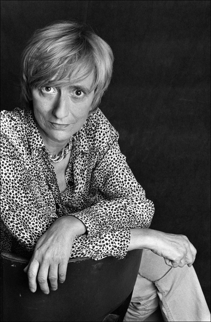 Françoise Sagan by Ulf Andersen, 1987