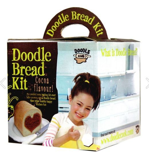 Bread making for kids by Doodlecook!