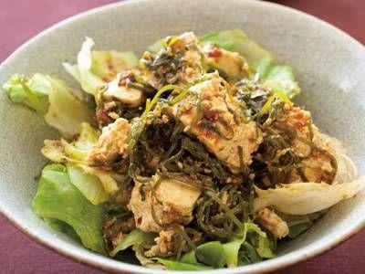 切り昆布と豆腐の韓国風サラダ レシピ 枝元 なほみさん 【みんなのきょうの料理】おいしいレシピや献立を探そう