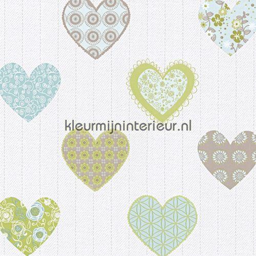 Happy hartjes behang 05583-30 | behang Happy Kids van Spits | kleurmijninterieur.nl