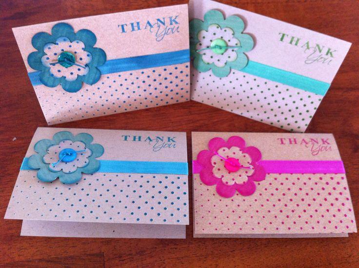 Kaszazz thank you cards
