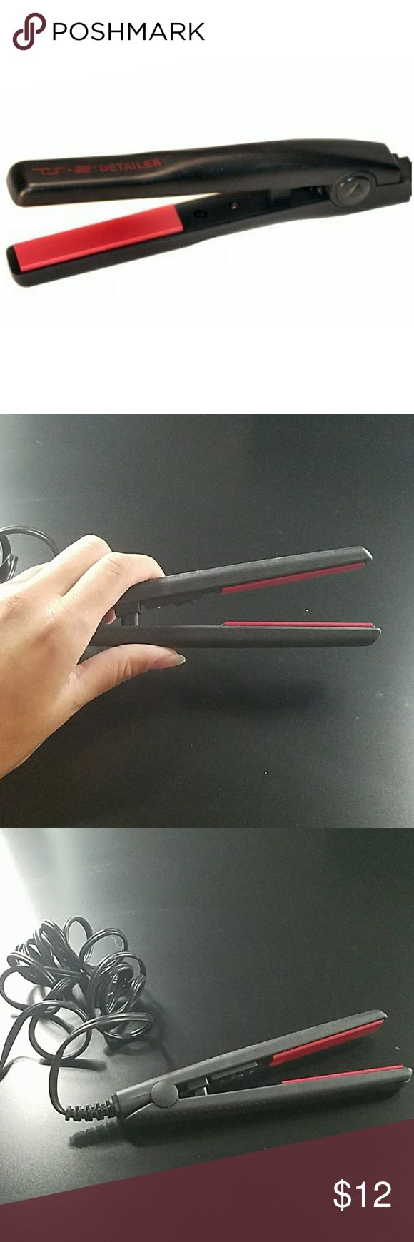 Mini hair straightener Great for on the go, in the purse, or traveling. Never used but does not have box. Other