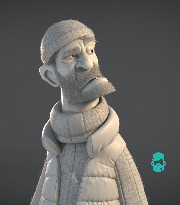 ArtStation - The Skipper, Matt Thorup