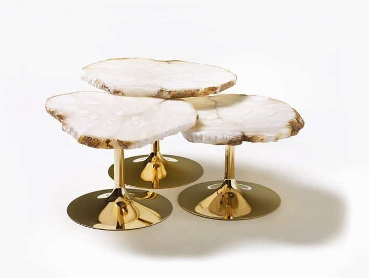 Edra Edra Insta A Series Of Small Tables In Alabaster By