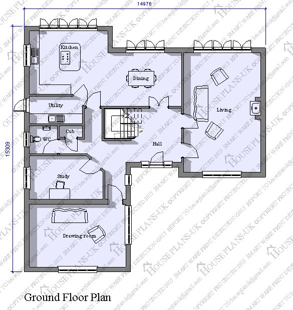 House Plans UK, Architectural Plans And Home Designs   Product Details