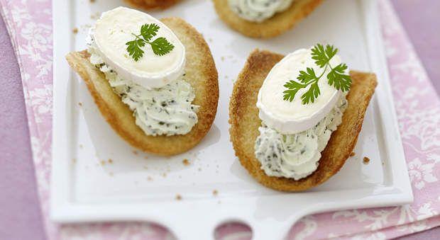 Tartine de bayonne bouch es originales au fromage frais for Fromage en special