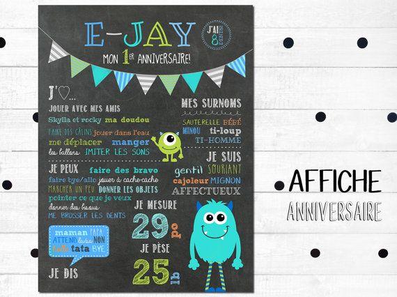 Affiche+premier+anniversaire+personnalisée_FICHIER+par+MOMYboutique