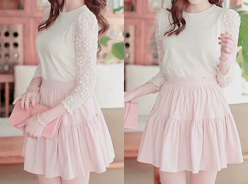 365 Best Images About Girly Girl Fashion On Pinterest Feminine White Lace And Cute Asian Fashion