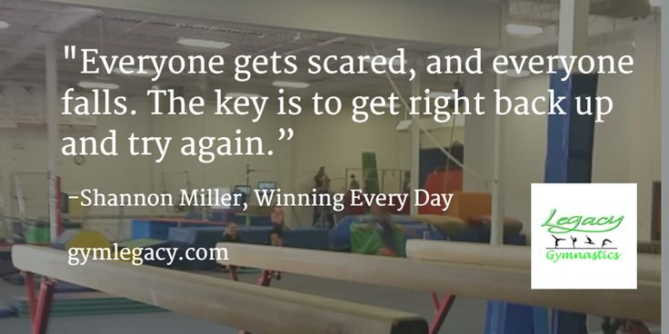 #motivationmonday - great quote from Shannon Miller.
