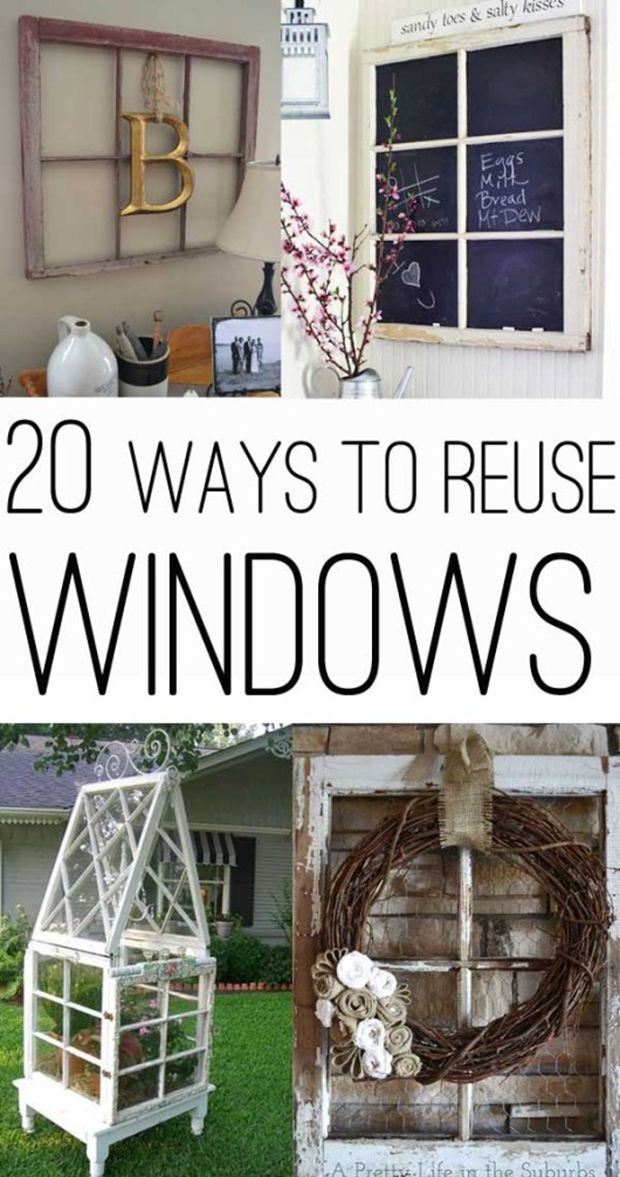 20 Awesome Ways To Use Old Windows