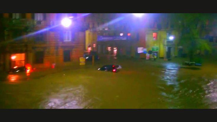 Incredible Flash Alluvione in Genova, Italy 09/10/ 2014