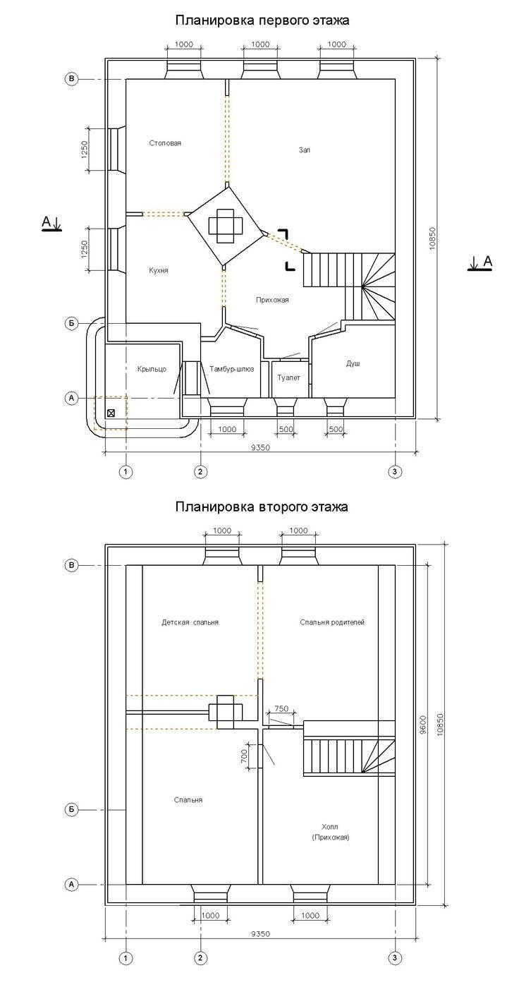 пассивный дом схема