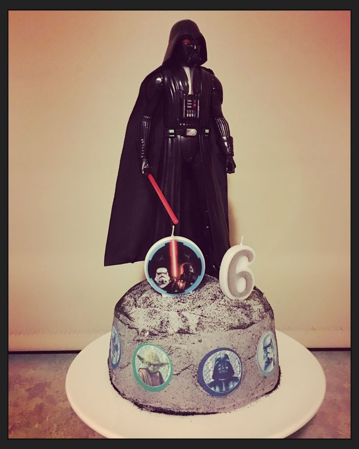 Star Wars Birthday Cake for my 6 year old little man!