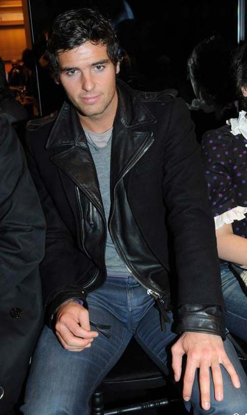 Yoann Gourcuff in leather... Mehhh...can't think