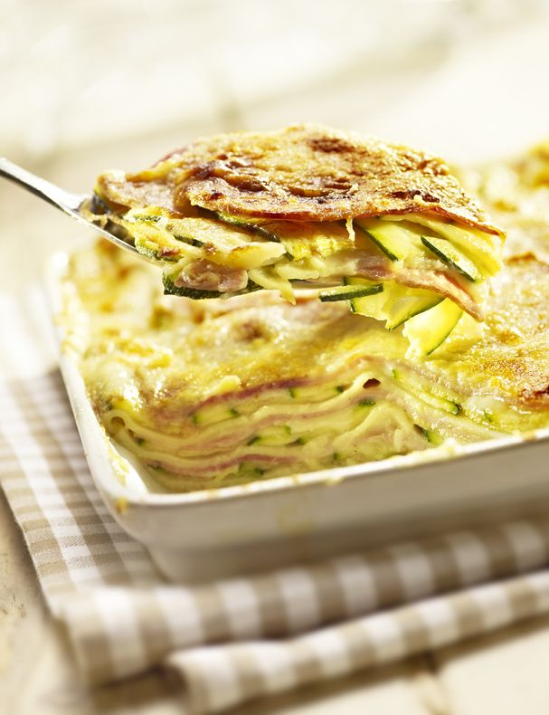 In this recipe, we've utilized the versatile zucchini as a noodle replacement for a fantastic guilt-free lasagna dish.
