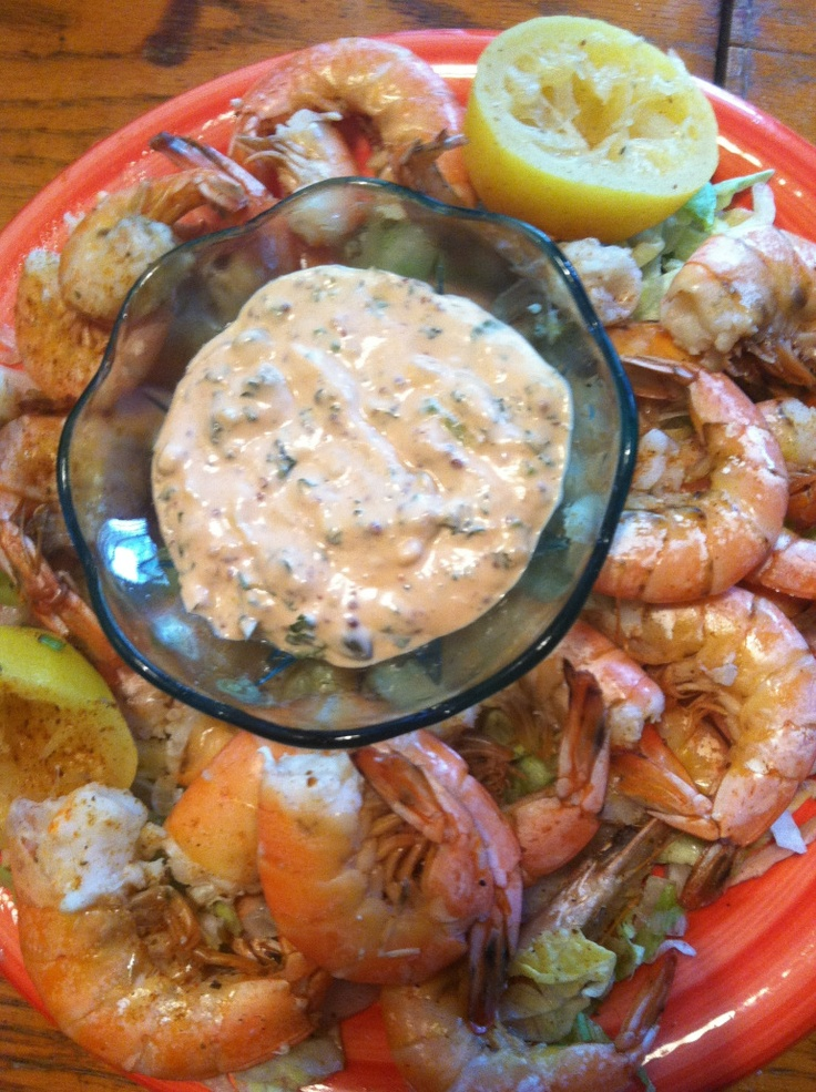 Remoulade Sauce  Ps ... Paula Deen recipe so you know it's good....never trust remoulade that isn't made by a southerner...