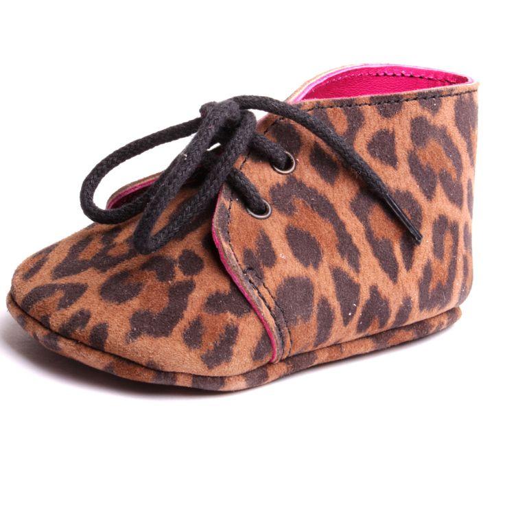 Chaussure bébé garçons chausson cuir souple à lacets motif kaki fait à la main made in France atelier  by mode France. de la boutique ByModeFrance sur Etsy