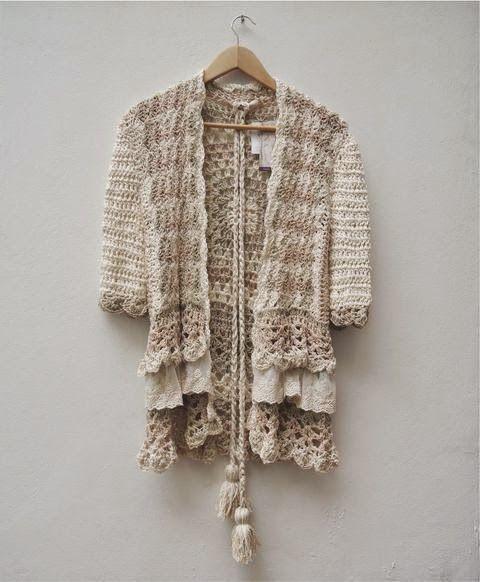 María Cielo: Sweater y sacos de Paula y Agustina Ricci