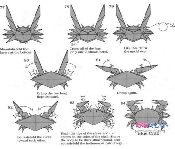 origami crab 12